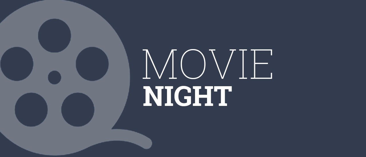 Movie night graphic
